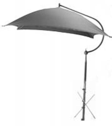 TU56W UMBRELLA WHITE DLX