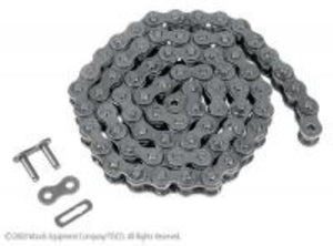 (10) 50RCSS ROLLER CHAIN STAINLESS STEEL