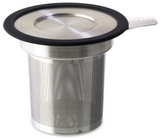 FORLIFE Brew-in-Mug Extra-Fine Tea Infuser with Lid