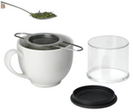 FORLIFE Folding Handle Tea Infuser with Carrying Case