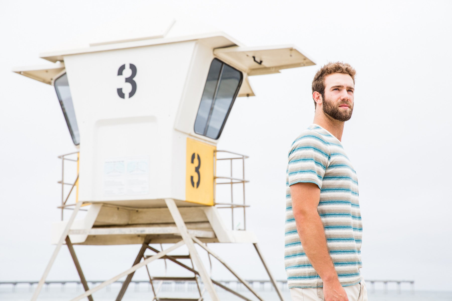 Daniel Norris at the beach