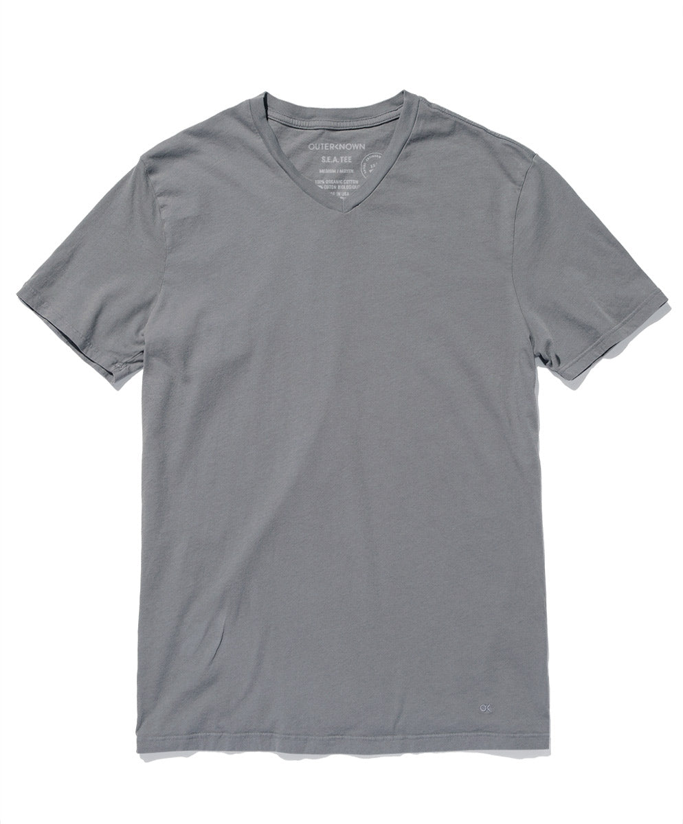 35403bc9b3115 S.E.A. Tee V-Neck | Men's Tees | Outerknown