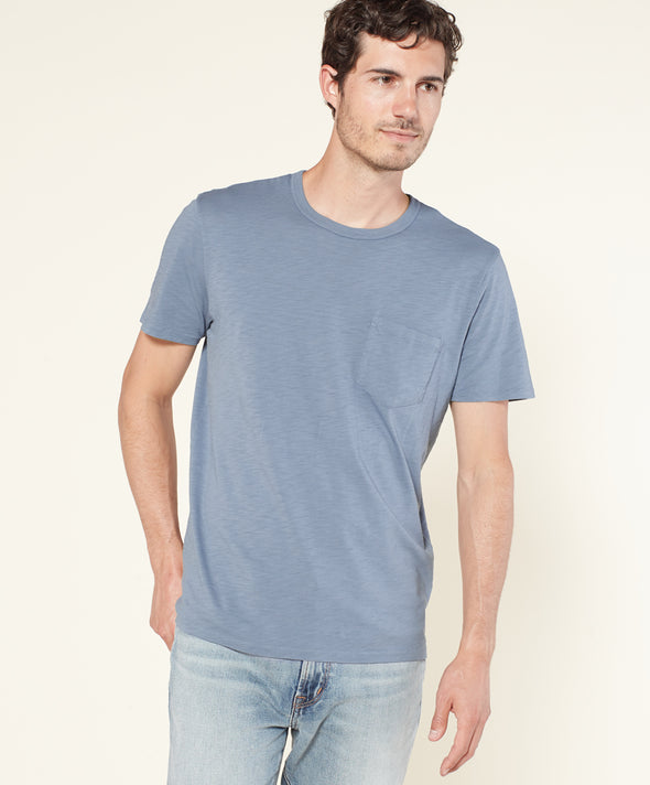 Shore Slub Pocket Tee - Final Sale