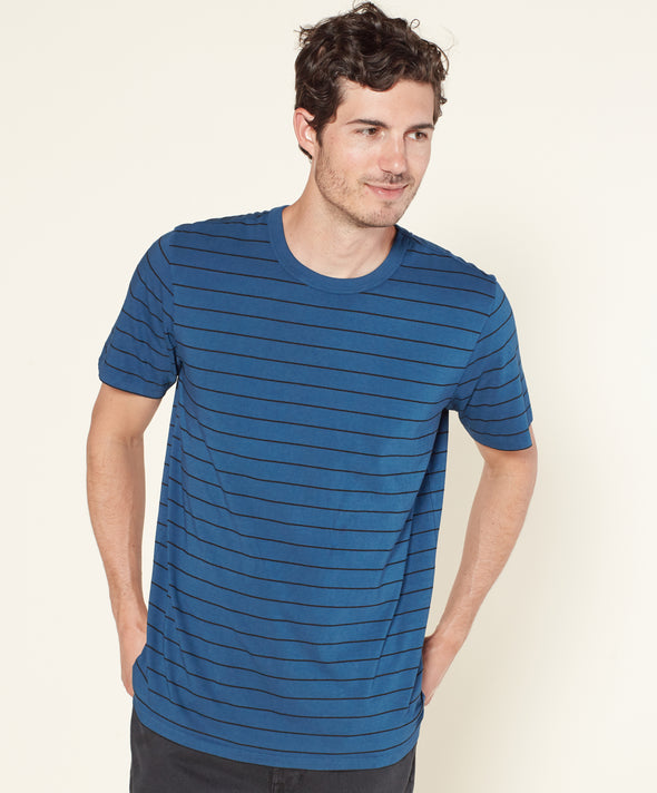 Palms Stripe Tee - Final Sale