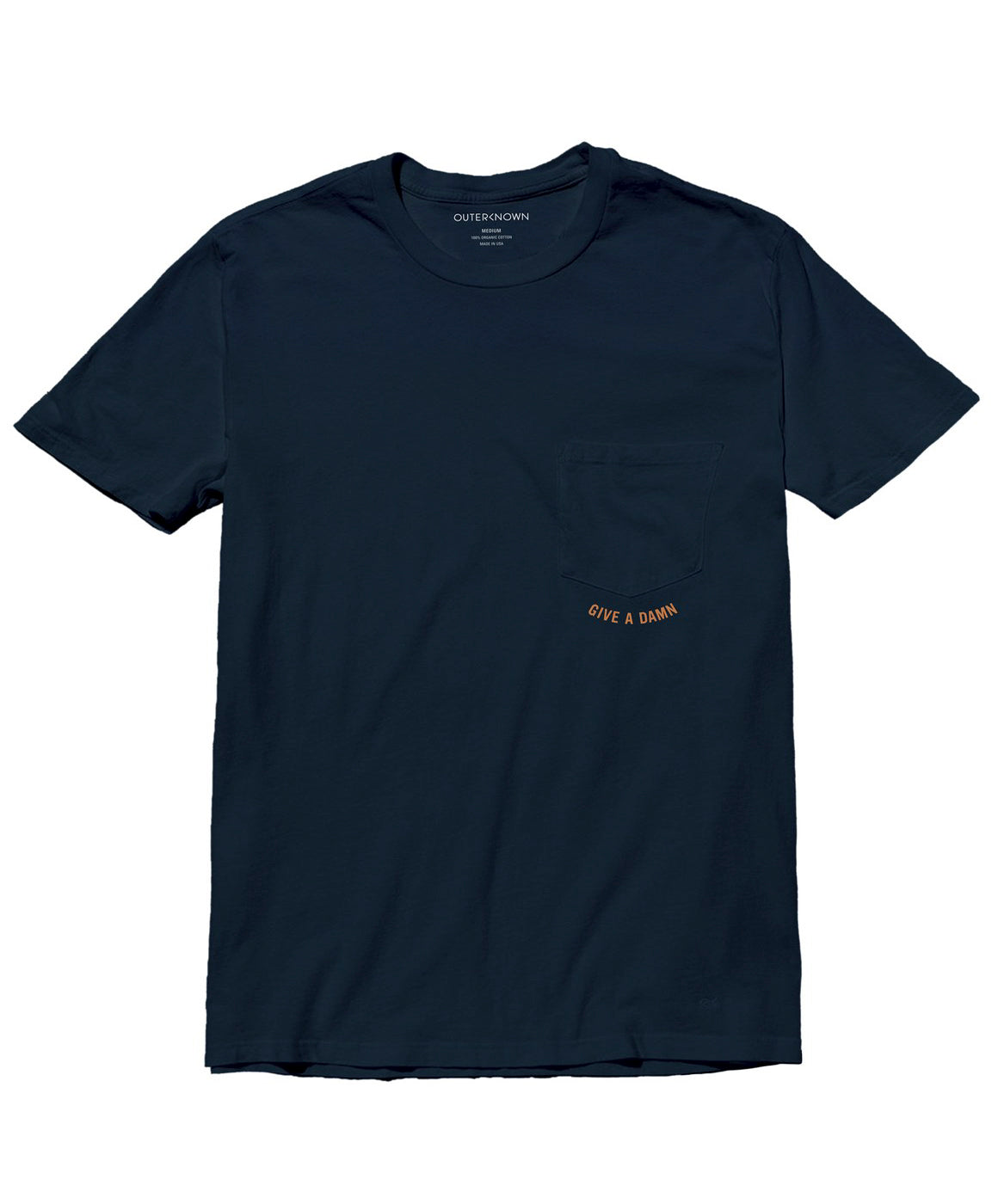 6c43af118a13 Give A Damn Pocket Tee | Men's Graphic Tees | Outerknown