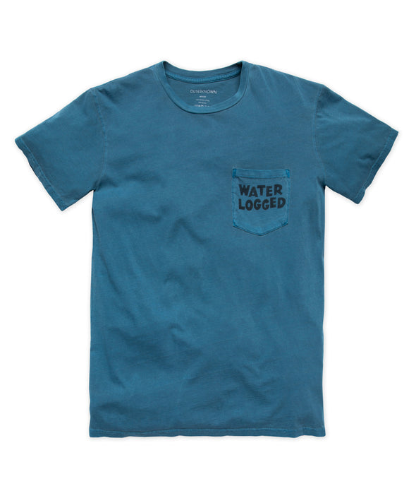 Water Logged Pocket Tee