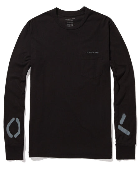 Split Logo L/S Pocket Tee - FINAL SALE