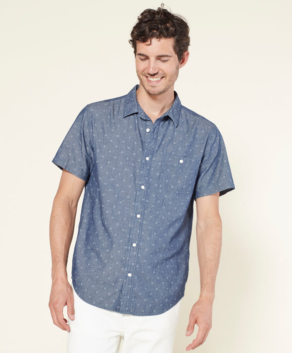 Walker S/S Chambray Shirt