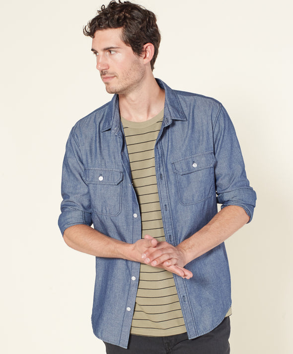 Walker Chambray Shirt - Final Sale