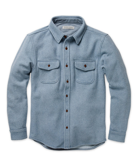 The New Denim Project Blanket Shirt