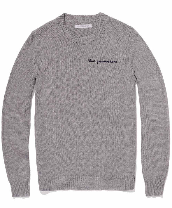 Message Harbor Crew Sweater - Final Sale