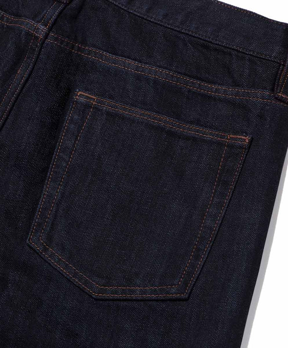 Local Straight Fit: Selvedge