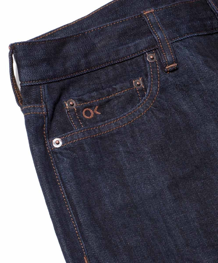 Local Straight Fit Jeans: Selvedge