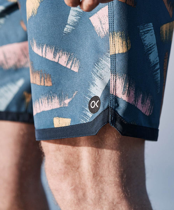 Dobby Modern Scallop Trunks - Final Sale