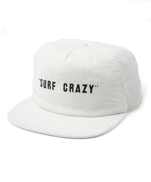 Surf Crazy Cord 5-Panel Hat