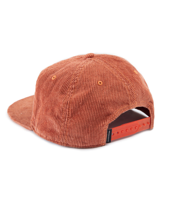 Circle Hollow Days Cord 5-Panel Hat