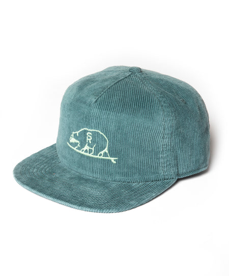 Surf Ranch Bear Cord 5-Panel