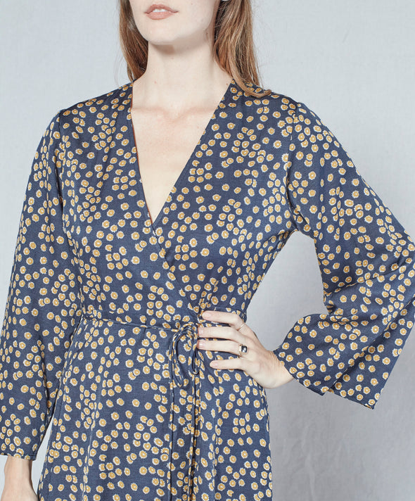 Rhiannon Wrap Dress - Final Sale