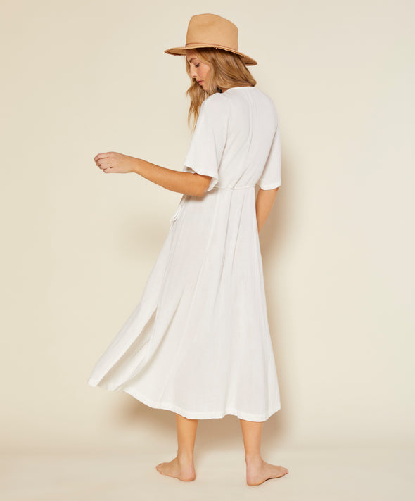 Meraki Wrap Dress - Final Sale