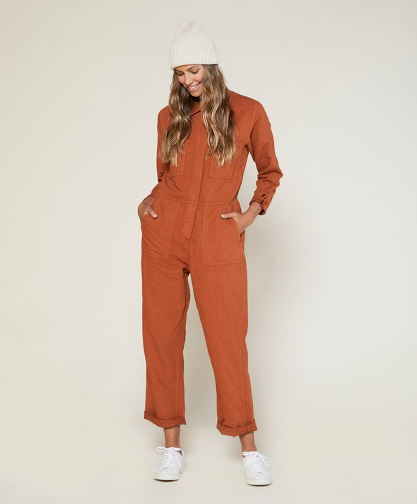 Station Jumpsuit - Final Sale