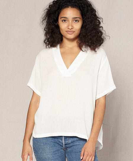 Costa V-Neck Top - Final Sale