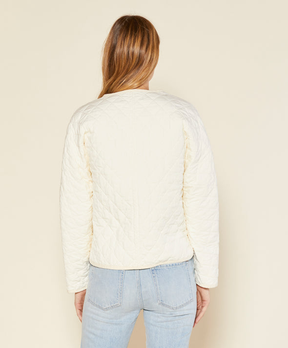 Honeycomb Quilted Jacket