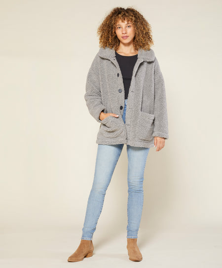 Woodland Sherpa Coat