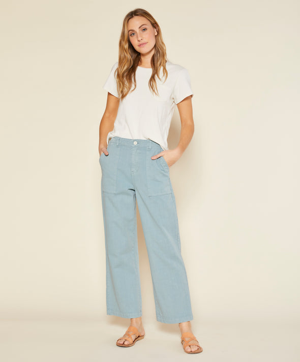 Denim Field Pants