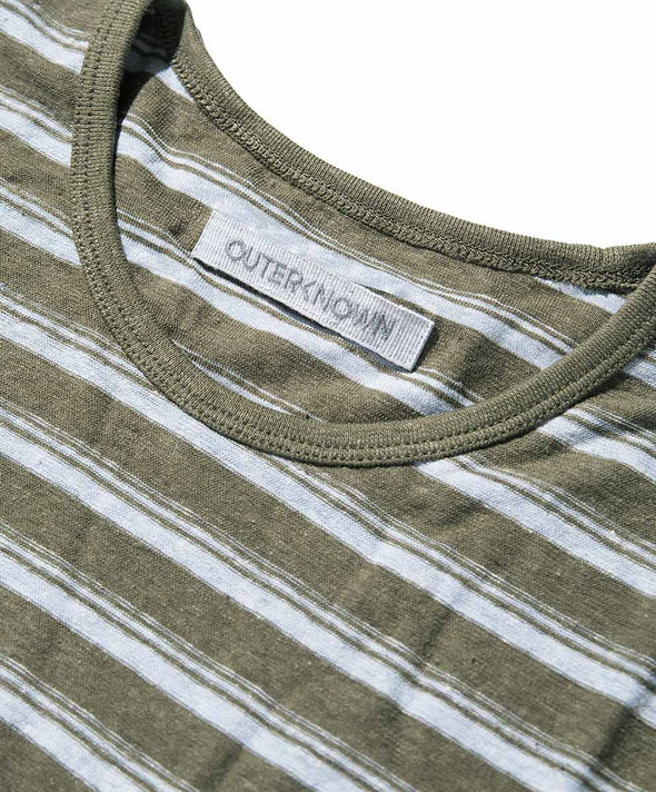 Shonan Stripe Pocket Tee - Final Sale