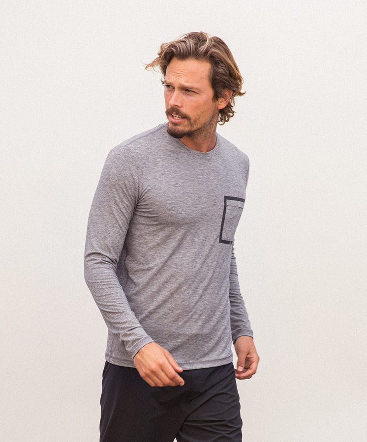 origin long sleeve tee heather gray 2