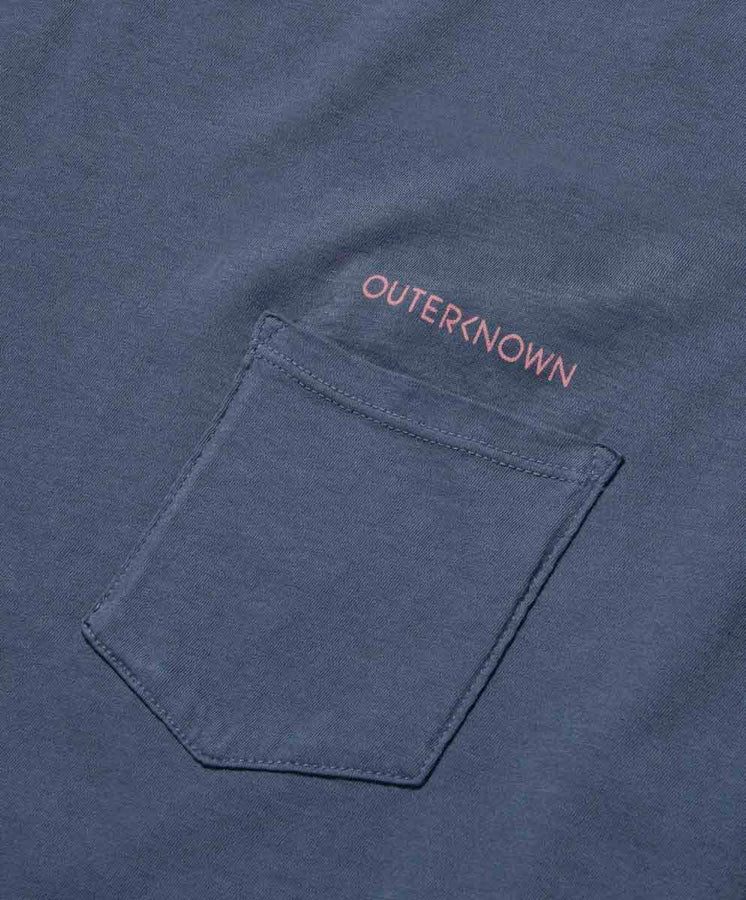 Wordmark Study Pocket Tee - Final Sale