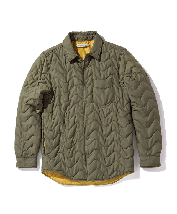 QUILTED EVOLUTION SHIRT JACKET
