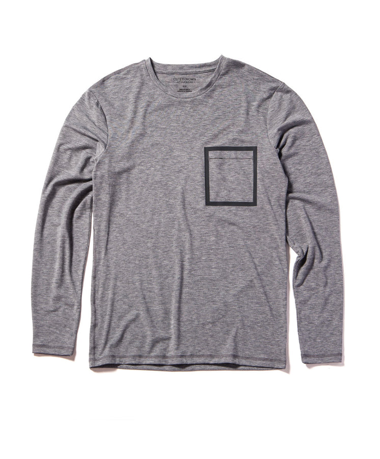 origin long sleeve tee heather gray 1