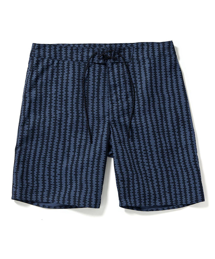 nomadic trunk navy striped