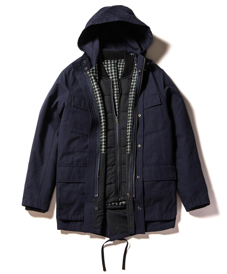 Northern 3-in-1 Coat flat 2