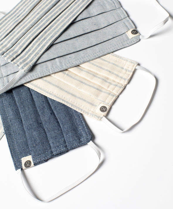 The New Denim Project X Outerknown Recycled Cotton Mask 3-Pack