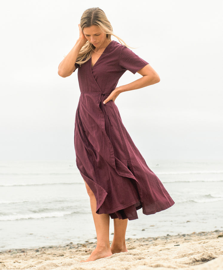 Ritual Wrap Dress - FINAL SALE