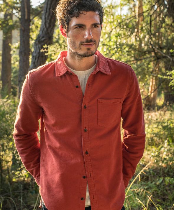 Lost Coast Moleskin Shirt - Final Sale