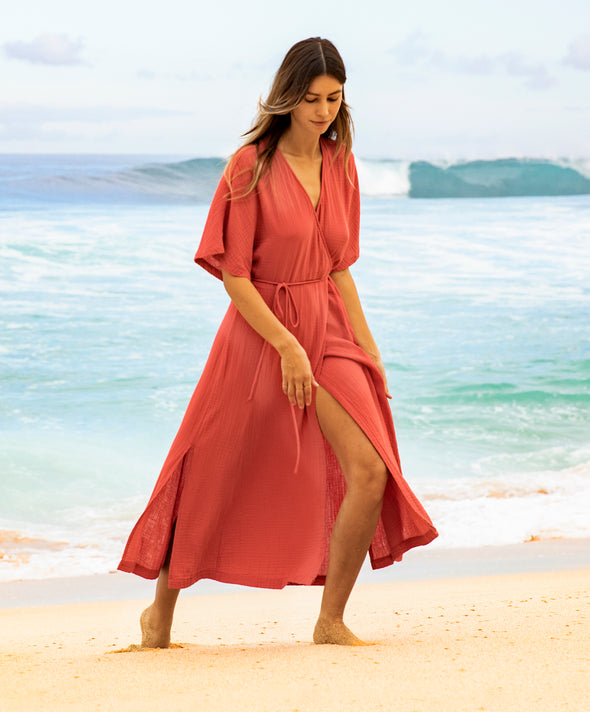 Meraki Wrap Dress
