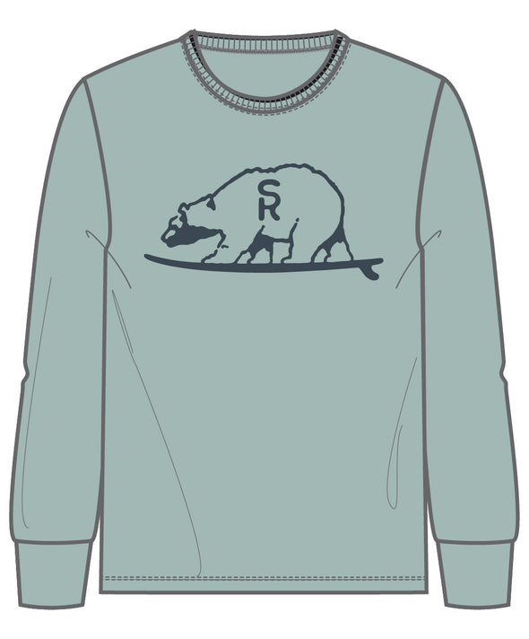 SURF RANCH BEAR L/S TEE