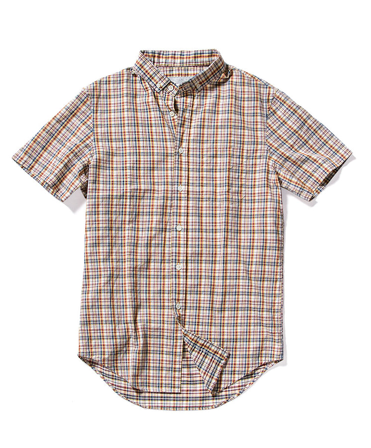 Coba Plaid S/S Decade Shirt - Final Sale