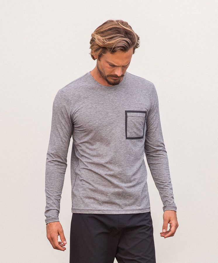 origin long sleeve tee heather gray 3