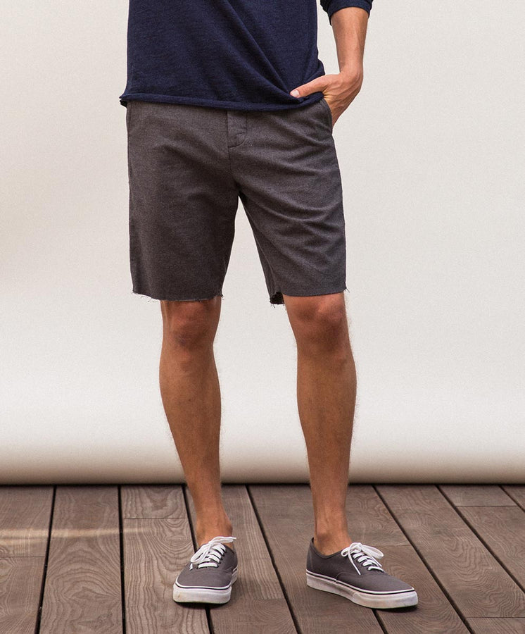 bainbridge short gray styling