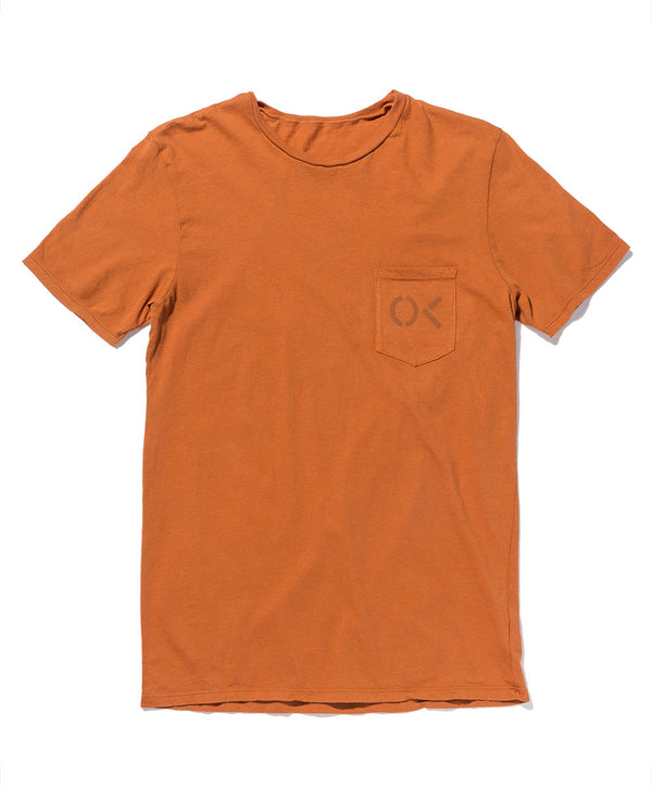 OK POCKET STENCIL TEE