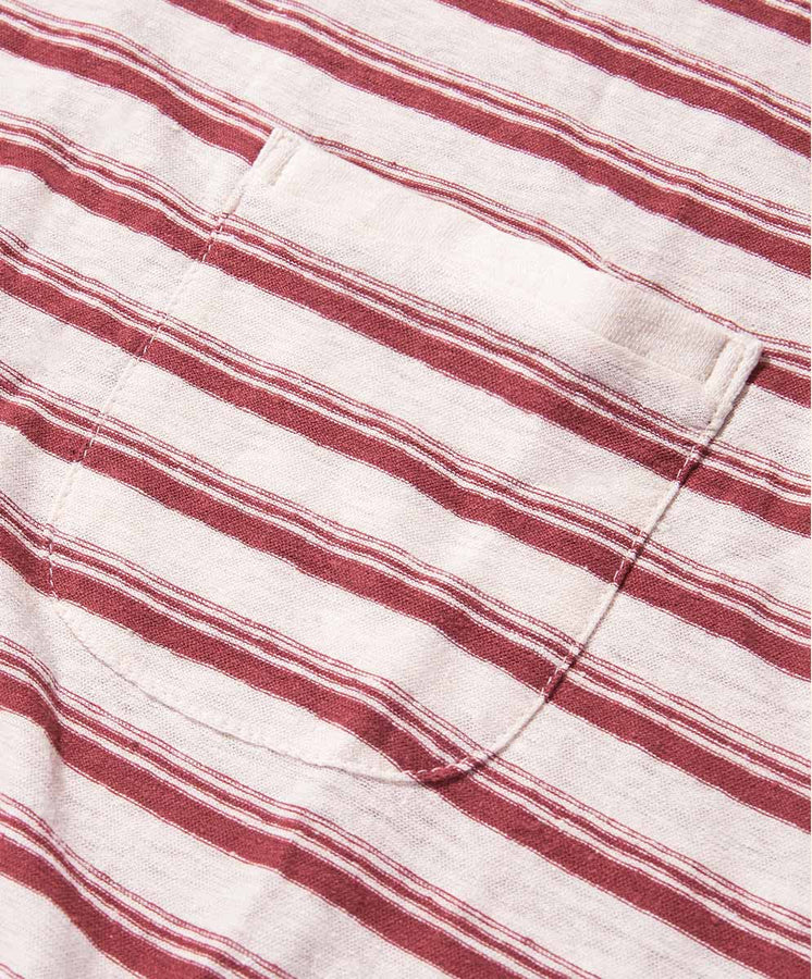 Shonan Stripe Pocket Tee