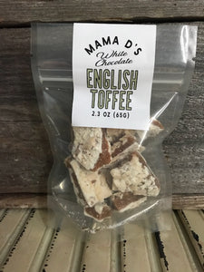 -White Chocolate English Toffee