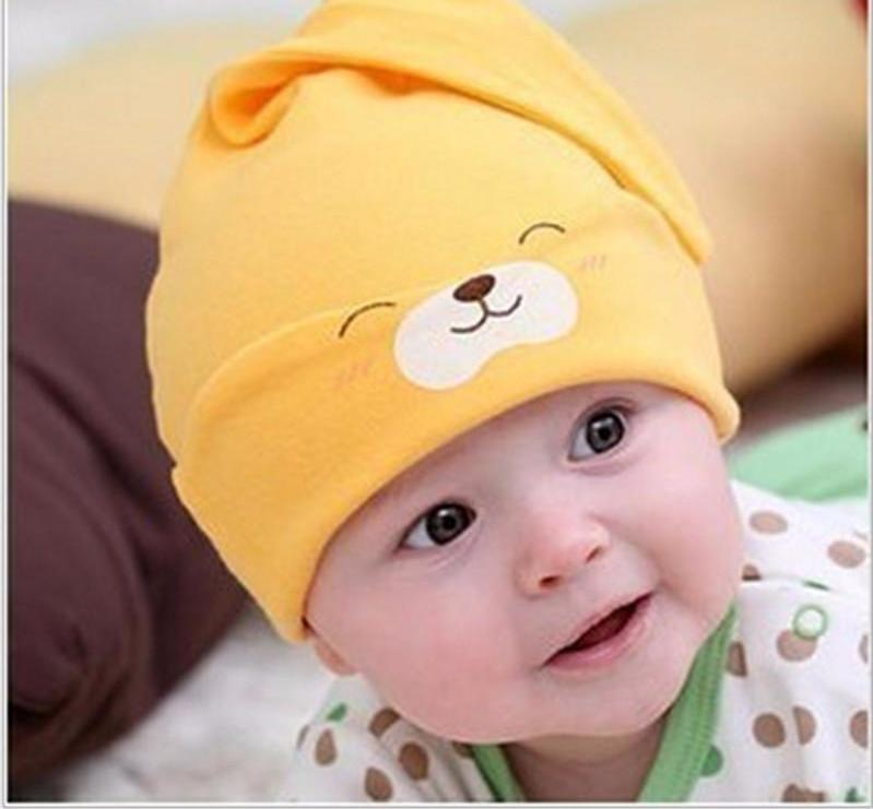 Soft Cotton Baby Beanie