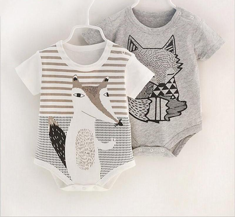 100%Cotton Short Sleeve Bodysuit for Baby