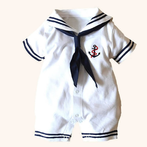 Sailor Romper for Baby Boy