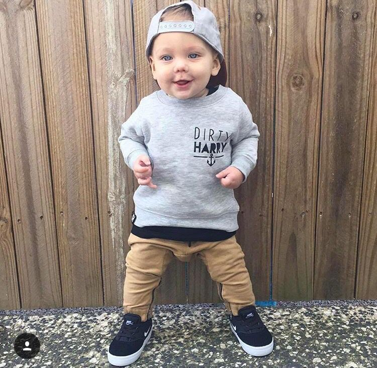 Street Style Outfit Set for Baby Boy